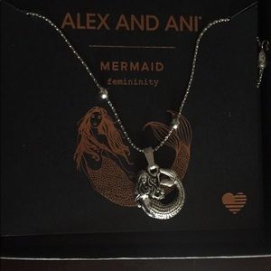 Alex and Ani mermaid necklace